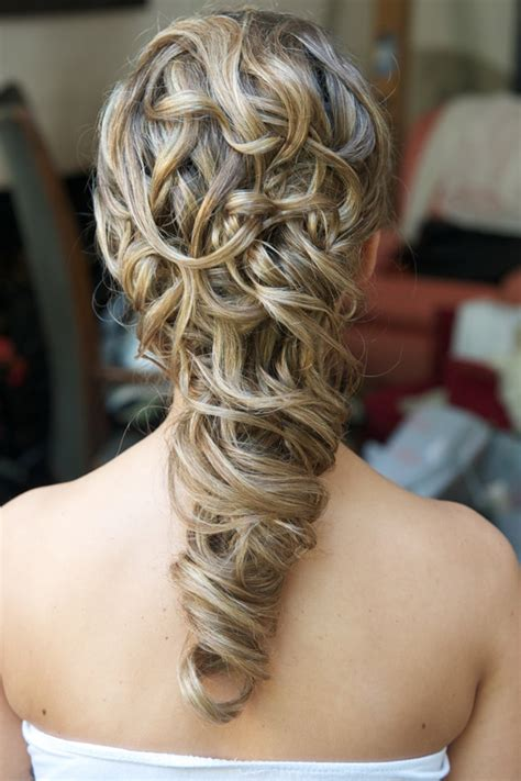 Half up styles & plaits and braids   Wedding Make Up and