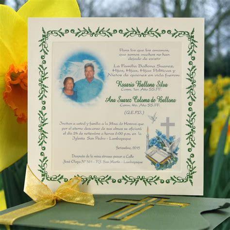 diseos de tarjetas para invitacin de misa de difuntos tarjetas de invitaci 243 n para misas imagui