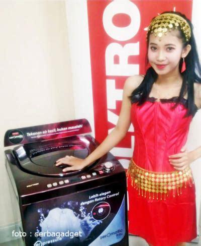 Mesin Cuci Zeromatic Ruby warna mesin cuci terbaru ini mengadopsi batu rubi