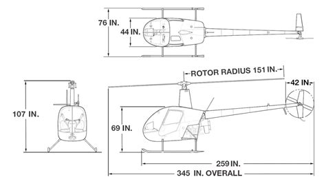 Table Locks R22 Introduction Amp Specifications Robinson Helicopter