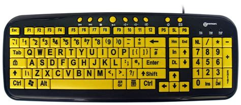 Keyboard For Blind keyboard visually impaired