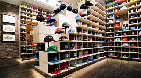 up a hat store designed with architecture that adapts daily