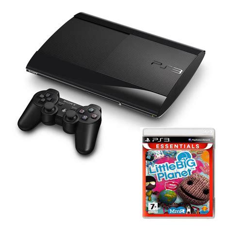 console ps3 slim 12 go sony playstation 3 ultra slim 12 go big planet