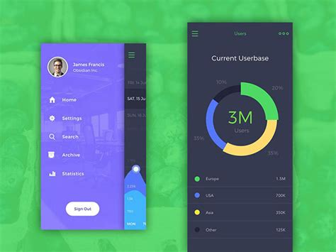 ui design idea user interface design inspiration 40 ui design exles