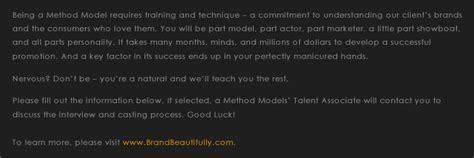 voicemail message sle modelmayhem method models anyone heard of them