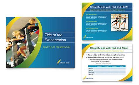 seminar presentation layout personal training presentations templates designs