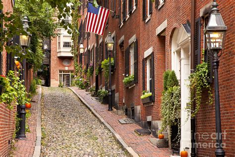 best boston ma home decor store america s best acorn street boston photograph by brian jannsen