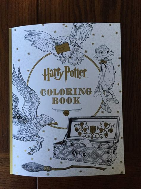 harry potter coloring book new harry potter coloring book harry potter amino