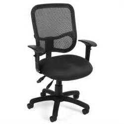 Office Chair Back Support Walmart Deluxe Woven Mesh Back With Built In Lumbar Support Office
