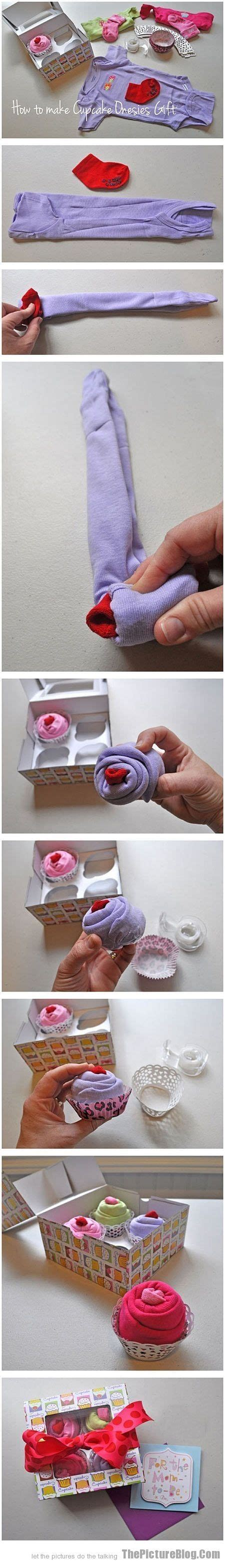 how to make a shower out of a bathtub how to make quot cupcakes quot out of onesies adorable for shower gift