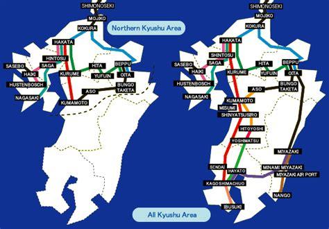 3 days northern kyushu jr pass tiket japan trains is a kyushu itinerary with japan rail pass car
