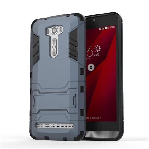 New Asus Zenfone 3 Rugged Shockproof Armor Hybrid Soft Ze for asus zenfone 2 laser ze601kl heavy duty armor kickstand rugged coque cover