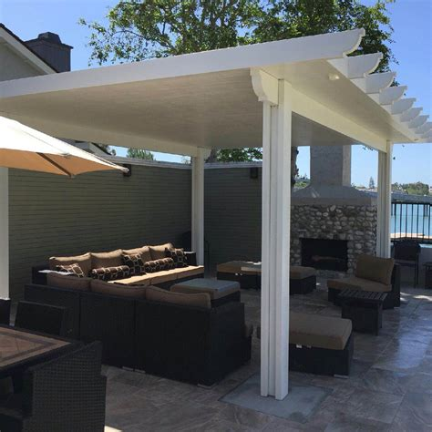 aluminum patio awnings for home aluminum patio covers home ideas