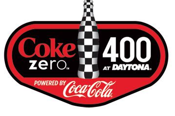 coke zero fan fans select coke zero 400 powered by coca cola logo