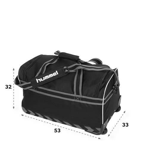 Tas Trolley Hockey Nhl Merk Coragio hummel medium travelbag elite 184830 8000 no sz zwart sportdirect