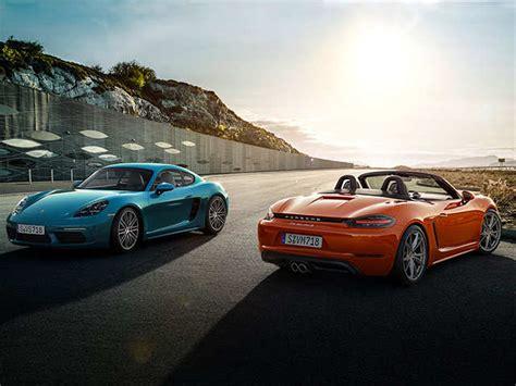 Porsche India by Desirable Porsche India Launches 718 Cayman And 718