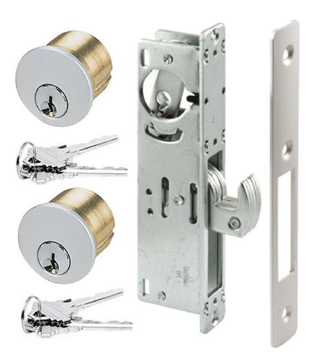 How To Change Commercial Door Lock by Rite Type Store Front Hook Bolt Keyed Mortise