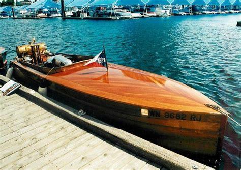 commander boats commander mcbragg wooden boat for sale
