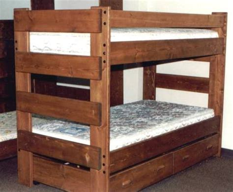 Everest 3ft Single Heavy Duty Solid Pine High Bunk Bed Heavy Duty Bunk Beds For Adults