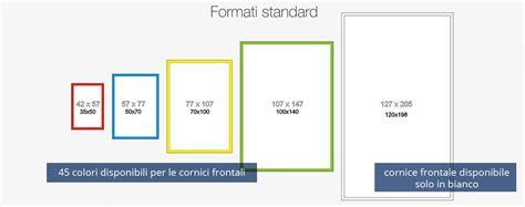 misure standard cornici pannelli backlight rivoluzionano il visual