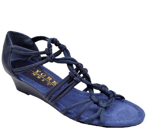 new york transit sandals new york transit wedge sandals keep fit qvc