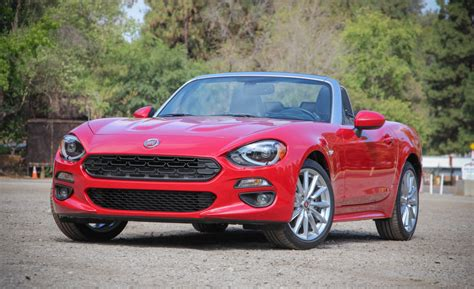 fiat automatic cars 2017 fiat 124 spider automatic review all cars u need