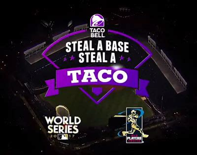 Taco Bell Stolen Base Giveaway - will we have another free taco day from taco bell s steal a base steal a taco