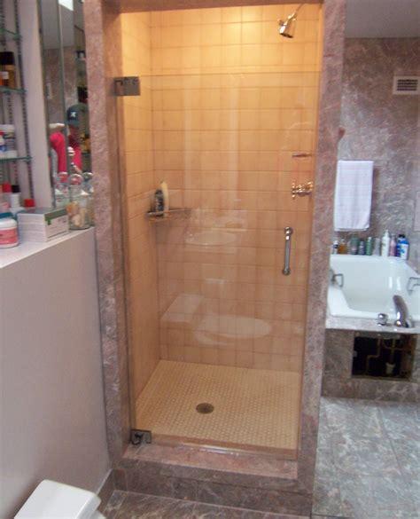 Single Shower Doors by Single Shower Doors Frameless Shower Doors