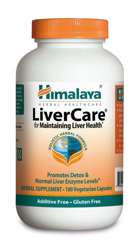 Liv 52 Detox by Himalaya Livercare Liv 52 180 Vegetarian Capsules For