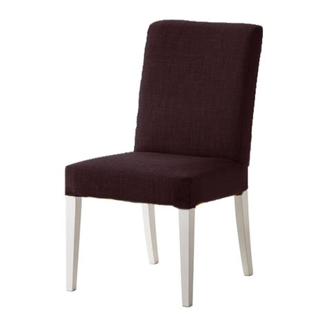 Ikea Henriksdal Dining Chairs Chocolate Skiftebo Replacement Slip Cover For Ikea