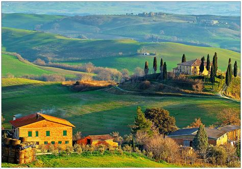 tuscan landscape tuscan food travel across italy