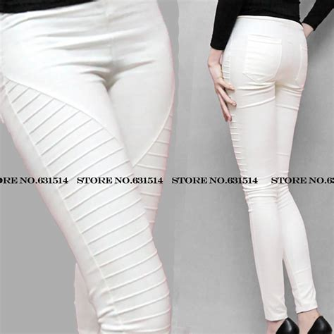 green plus size khaki pants for women thin blue white green black red khaki new plus size