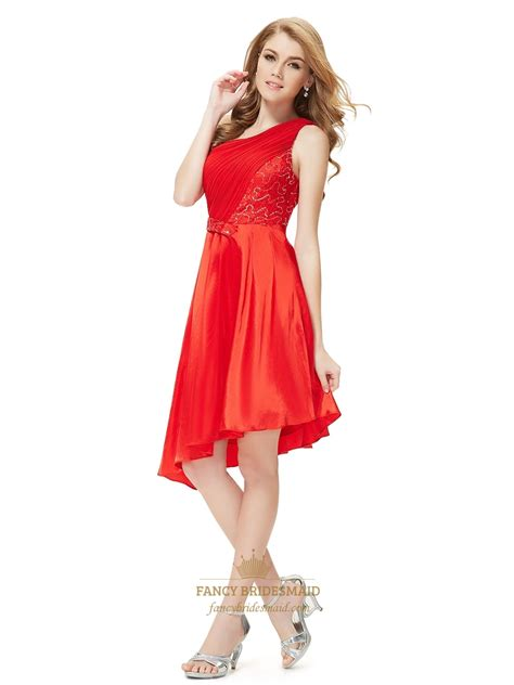 Bridesmaid Dresses Asymmetrical Hem - one shoulder asymmetrical hem bridesmaid dresses