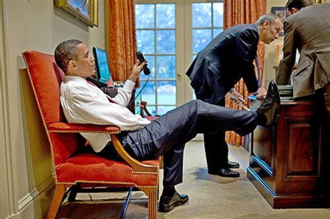 Obama On Desk by Quot Hey Quot The President Of The United States Begins His Email