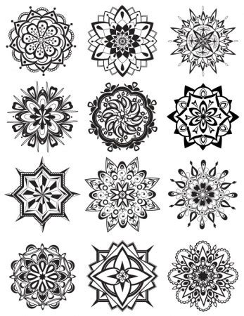 the artful mandala coloring book creative designs for and meditation mandala coloring pages dabbles babbles