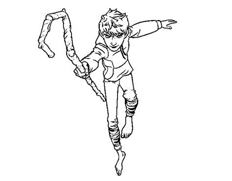 Imagenes De Jack Frost Para Dibujar   dibujo de jack escarcha para colorear dibujos net
