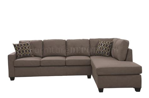 powell sofa powell sectional sofa 501687 in beige fabric by coaster