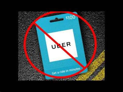 Uber Gift Card Not Working - my uber gift card isn t working youtube