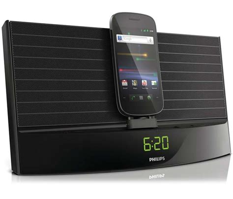 android alarm clock philips as140 fidelio android dock alarm clock fm radio