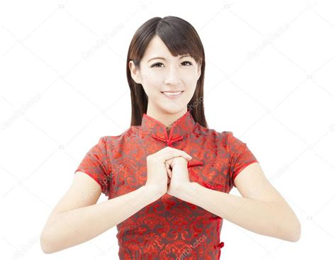 new year greeting gesture happy new year asian with congratulation
