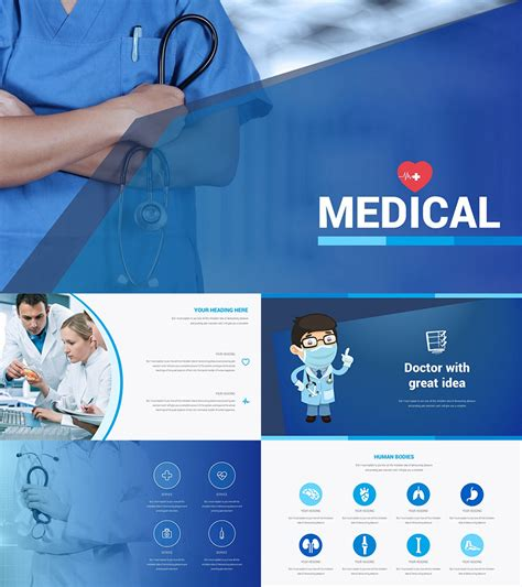 17 medical powerpoint templates for amazing health