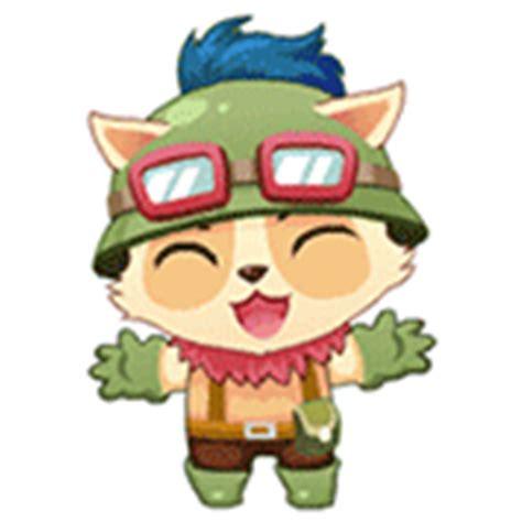 emoticon format gif 20 league of legends teemo funny emoji animation 100000