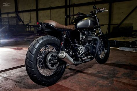 Custom Custom triumph bonneville se custom by maccomotors spain