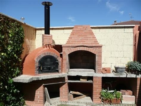 horno de piedra casero