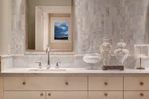linear marble tiles contemporary bathroom studio 212