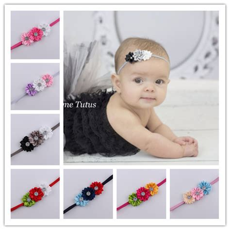 Baby Headband 16 2016 baby newborn infant headbands thin elastic rhinestone