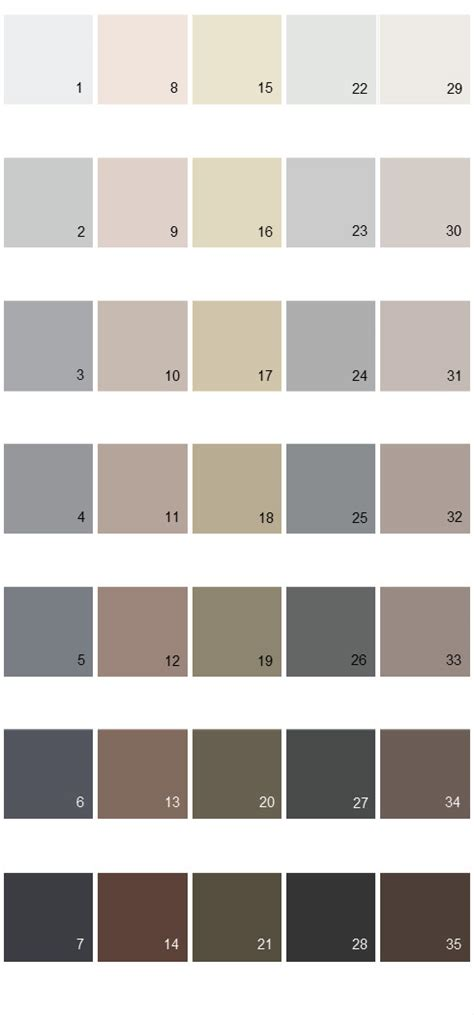 behr paint colors colorsmart palette 41 house paint colors