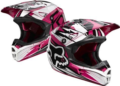 pink motocross helmets pink fox racing helmet random motocross