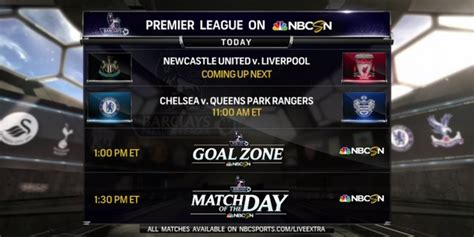 epl on nbc premier league saturday gameweek 10 starting lineups tv