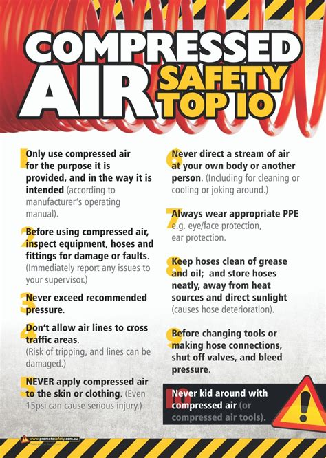 compressed air doesn t seem dangerous which is why so many workers are injured in compressed